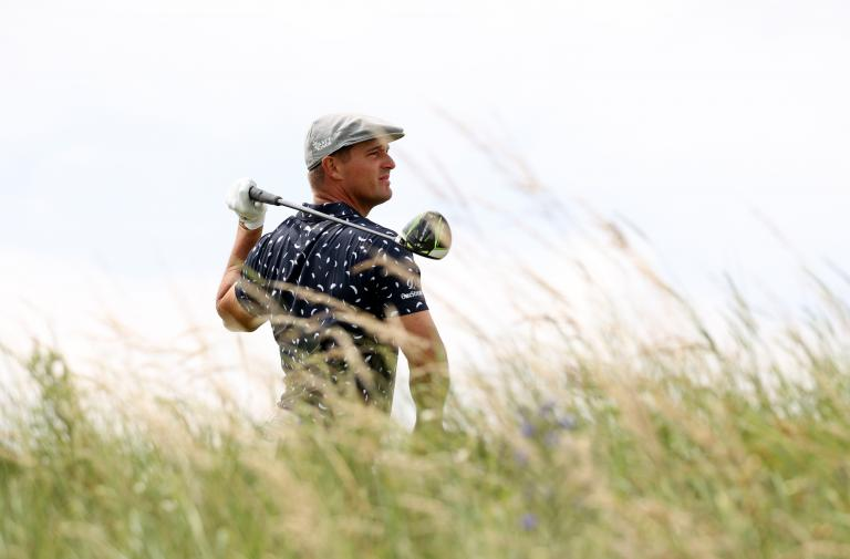 """Bryson DeChambeau says his driver """"SUCKS"""" after poor start at The Open"""