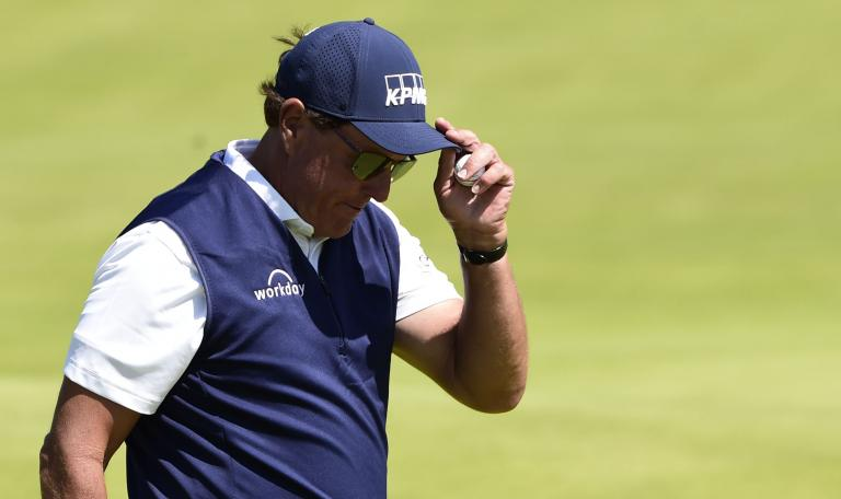 Phil Mickelson is using an ARMLOCK putter at the WGC-FedEx St Jude Invitational
