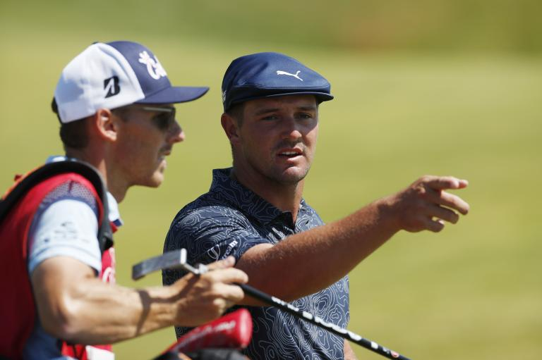 """Bryson DeChambeau on Open struggles: """"I don't think I'll ever figure it out"""""""