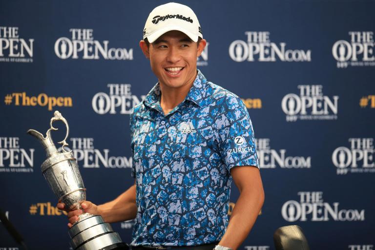 Collin Morikawa: BURGERS were the secret to my Open win!