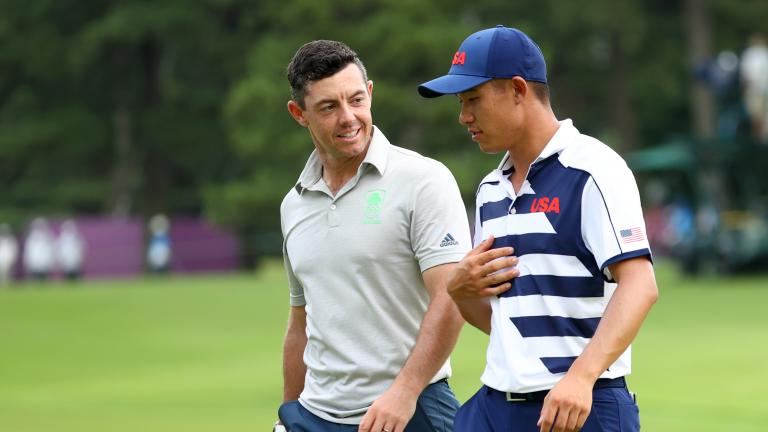 Rory McIlroy says his head is TOO SMALL for a cap at the Olympics!