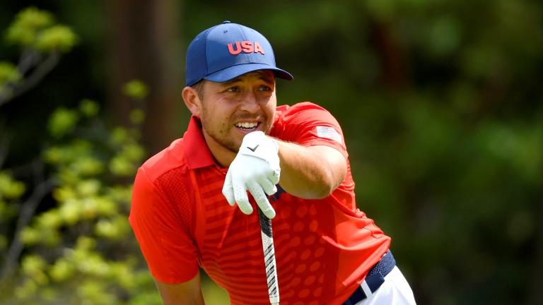 Xander Schauffele FIRES round of 8-under-par to lead Olympic Golf on day two