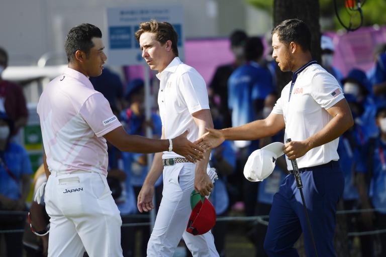 Xander Schauffele takes NARROW lead into final round of Olympic Golf