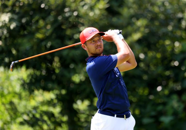 Xander Schauffele: What's in the bag of the Olympic Gold Medallist?