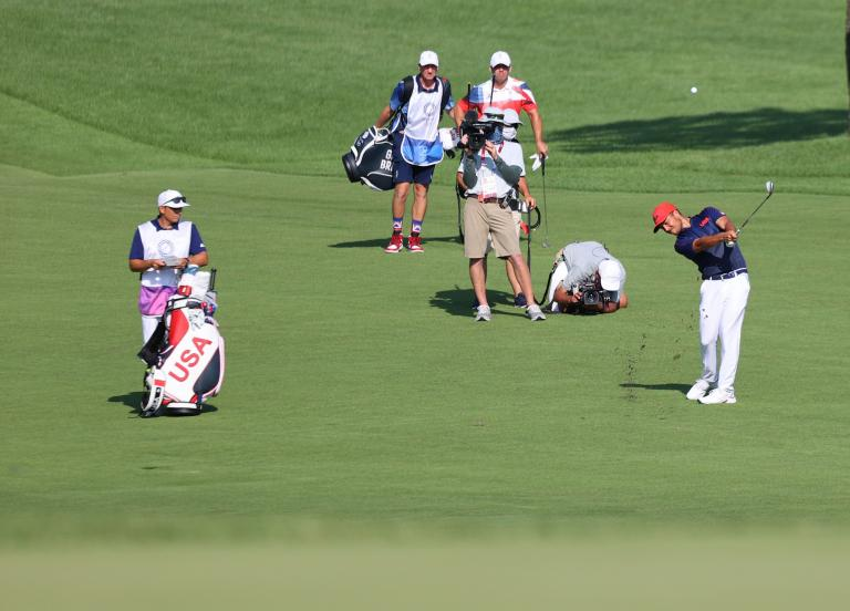 Should golf caddies also receive a gold medal at the Olympic Games?