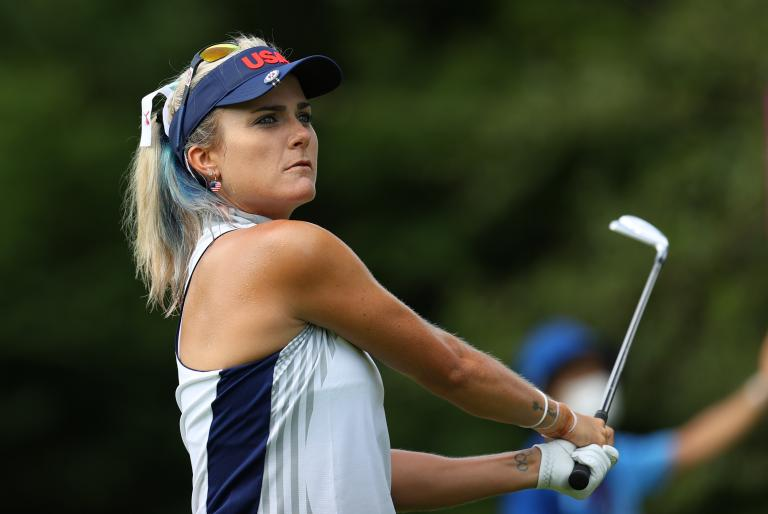 Lexi Thompson's caddie forced out of Olympic R1 due to HEAT EXHAUSTION