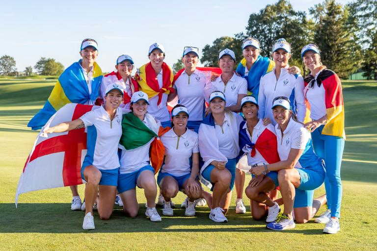 Lee Westwood FIRES SHOTS at the American crowd during Solheim Cup