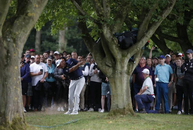 BMW PGA Championship Day Two: Justin Rose contends as Ian Poulter misses cut