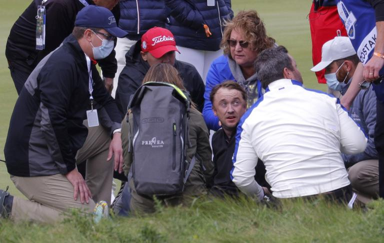 """Harry Potter actor Tom Felton """"okay"""" after he collapses at Ryder Cup course"""