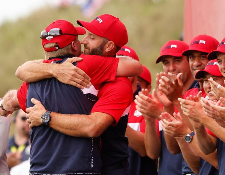 Tiger Woods praises US Ryder Cup team after RECORD win over Europe