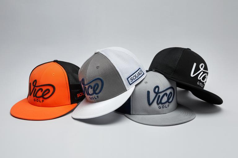 Vice Golf drops 11 new caps ahead of golf's return
