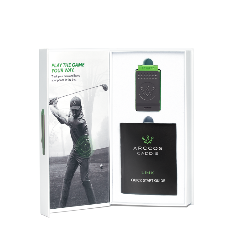 Arccos Golf introduces Arccos Caddie Link wearable