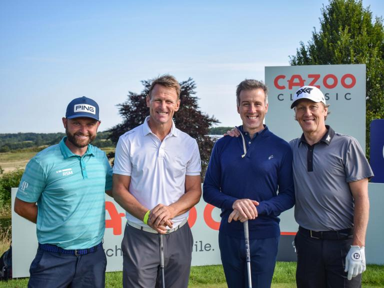 Star-studded line-up kick off the Cazoo Classic at London Golf Club