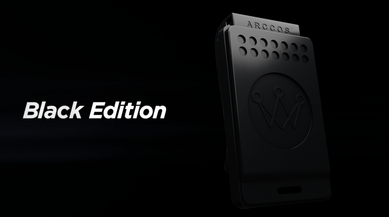 Arccos Golf introduce LIMITED-RELEASE 'black-edition' link wearable