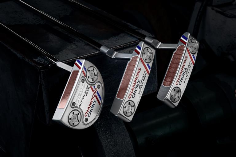 Titleist introduce new Scotty Cameron Champions Choice Putters