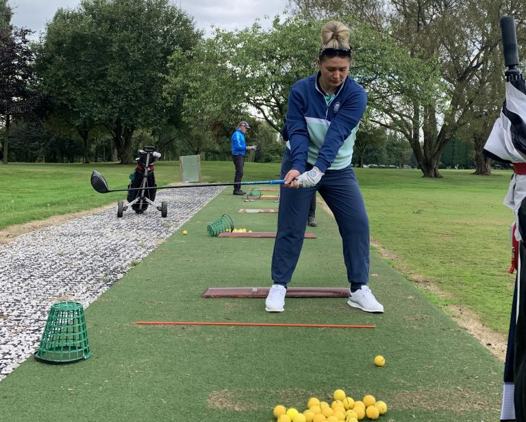 Best Golf Tips: The BASKET DRILL will make you hit LONG and STRAIGHT drives