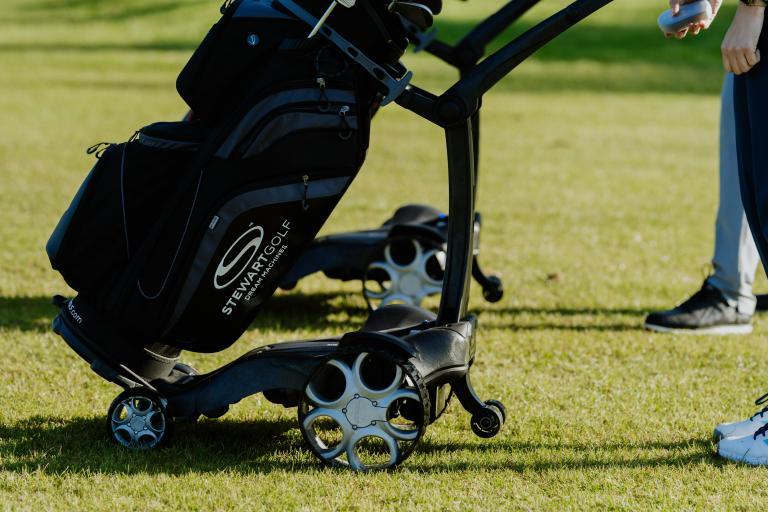 Premium manufacturer Stewart Golf launch new Q Remote trolley for 2021