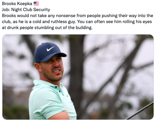 PAR-ODY: What if the best golfers on the PGA Tour had normal day jobs?