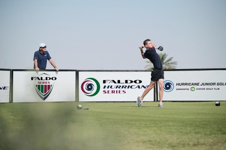 Sir Nick Faldo's American dream with new junior golf series