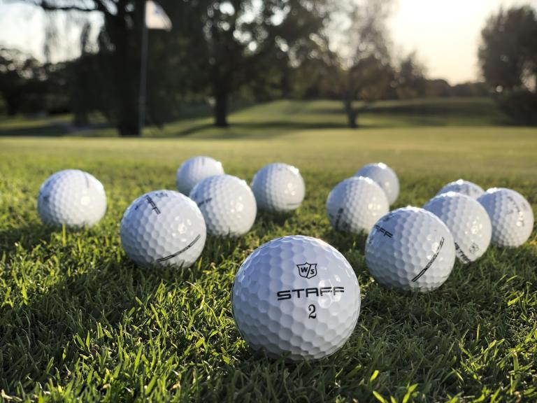 Wilson launches Tour-inspired Staff Model golf balls