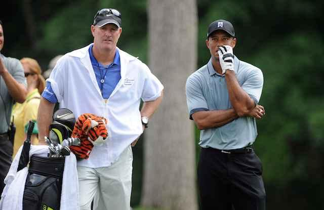 Joe LaCava's son will caddie for Tiger Woods' son Charlie at PNC Championship
