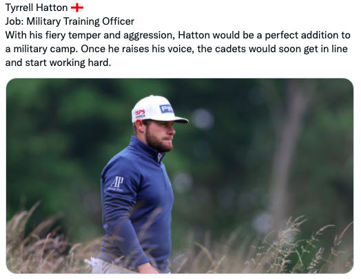 PAR-ODY: What if the best golfers in the world had normal day jobs?