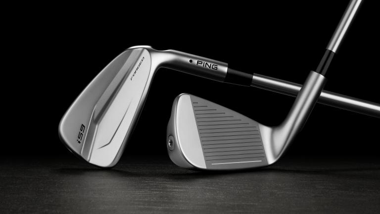PING elevate forged iron design with launch of i59 irons