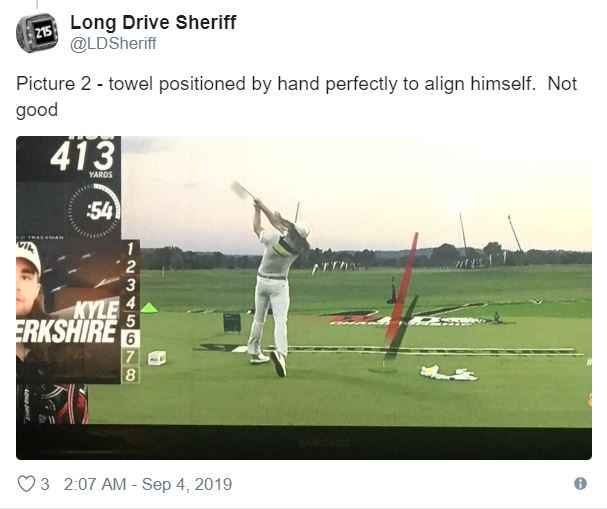 World Long Drive Champion accused of cheating en route to final