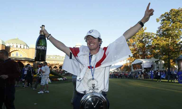 Rory McIlroy admits he used to struggle with team play