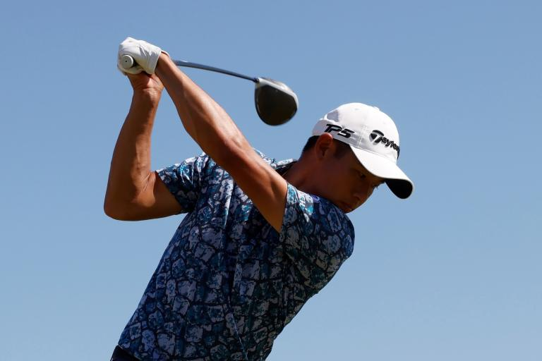 """Collin Morikawa experienced """"FARTING NOISES"""" on 18th hole at The Open"""