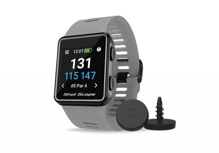 Shot Scope V3 GPS Golf Watch On-Course Review 2021