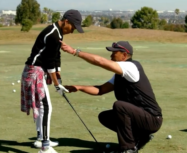 Tiger Woods FOOTAGE emerges just hours before his car crash in Los Angeles