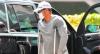 Tiger Woods seen walking in INJURED leg in Los Angeles