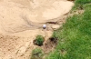 Did you know this rule about hitting your ball from washout area in the bunker?