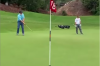 Did you know this rule about caddies standing on their player's putting line?