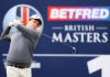 Robert MacIntyre makes his move on day two at the British Masters