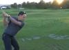 Golfer has an ABSOLUTE SHOCKER on the driving range!