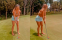 Golf fans react to images of Julianne Hough playing golf!