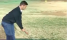 Golf fans REACT as a golfer WHACKS a pile of balls at the driving range!
