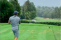 Golf fans react as unlucky golfer ACCIDENTALLY hits car with his ball