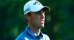 Renato Paratore hits his ball in spectator's bag at Omega European Masters