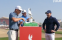 Justin Thomas pictured wearing unknown golf shirt ahead of Abu Dhabi tournament