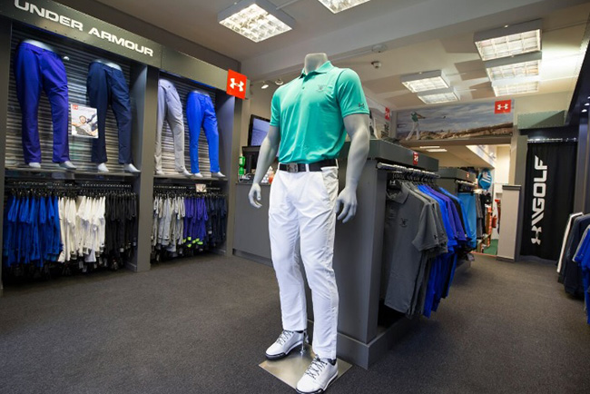 0ed59dd8202d Under Armour opens St Andrews shop